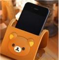 轻松熊系列手机座 可折叠固定支架座