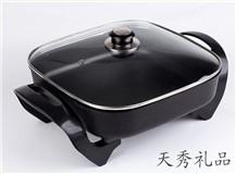 韩式多功能电烤锅电热锅无烟不粘锅蒸煎煮烤