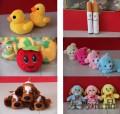 儿童动漫创意毛绒玩具