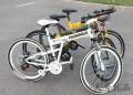 路虎高配版26寸折叠山地自行车