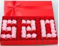 77朵香皂玫瑰花礼盒