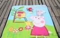 粉红猪小妹 儿童佩佩猪户外毛毯