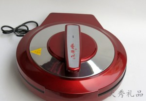 高档烤漆红双喜电饼档电烤炉32公分