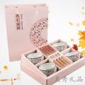 碗筷套装8件套礼盒包装,四碗四筷