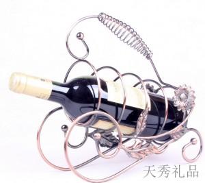 铁艺铁线红酒架葡萄酒架