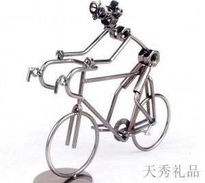 运动单车模型摆件