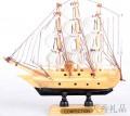 木质小帆船模型