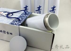 青花陶瓷广告礼品