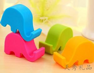可爱大象床头鼻子手机小支架