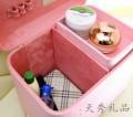 2015新款糖果色大容量韩版化妆箱