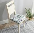 新款时尚棉麻方形坐垫
